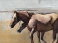 """""""Sea Breeze,"""" 15 x 30 in. oil-canvas"""