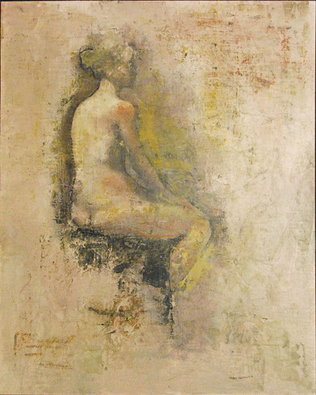 NudeSketch_20x16_oil-encaustic-panel