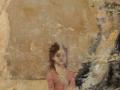 """Parlor,"" 20 x 16 in. oil-encaustic_canvas-panel"