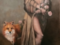 """Cunning Consort"" 48 x 24 in. oil-canvas"